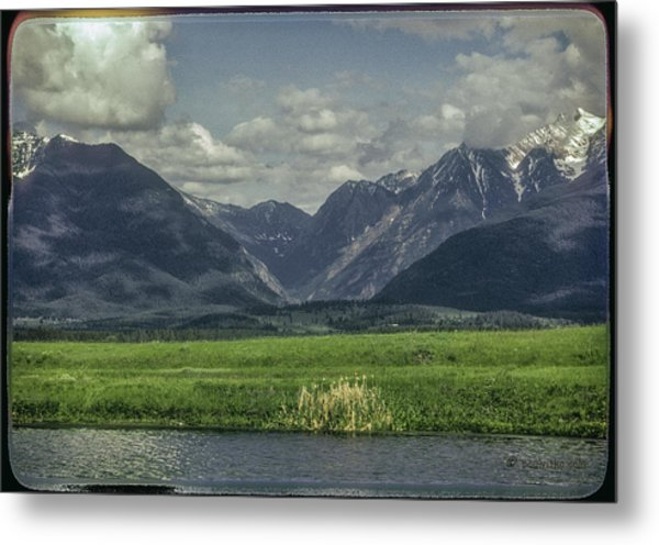 Mountain View Montana.... Metal Print