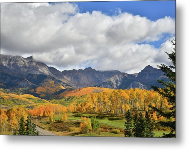 Mountain Village Telluride Metal Print