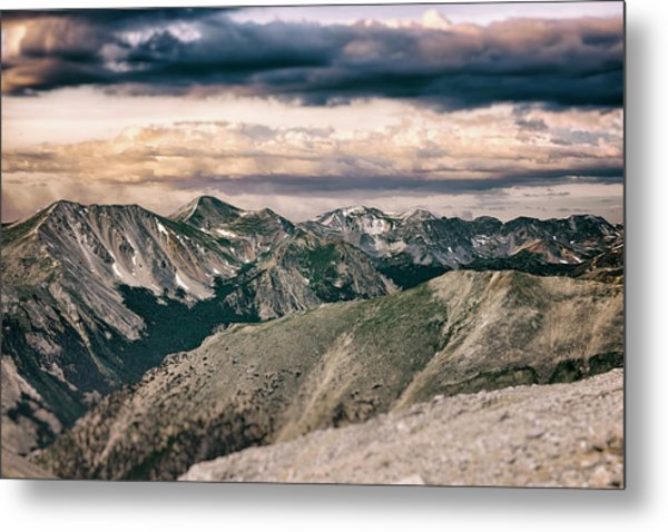 Mountain Vista Metal Print by Garett Gabriel