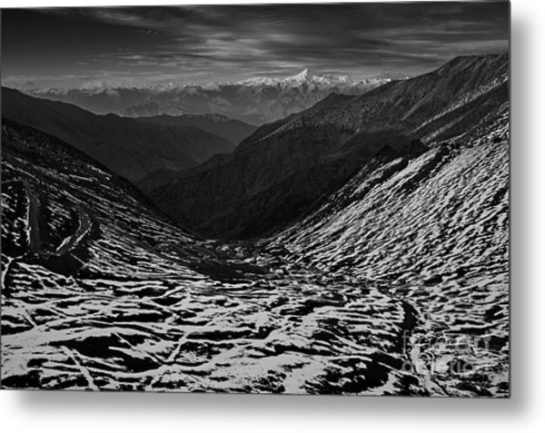 Mountaineers Dream Metal Print