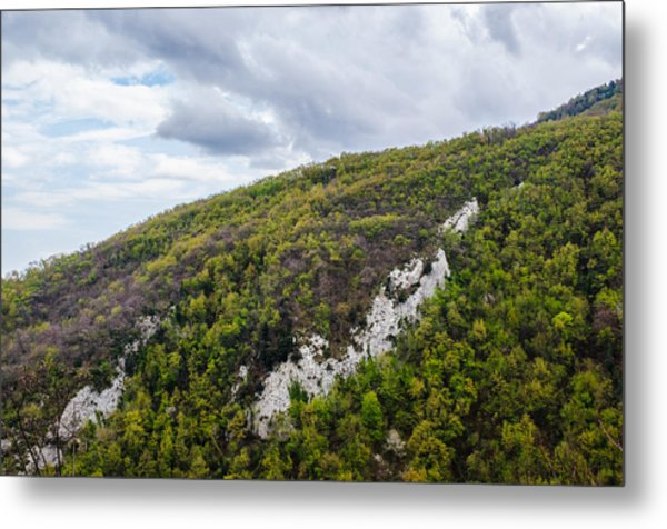 Mountains And Skies Metal Print by Andrea Mazzocchetti