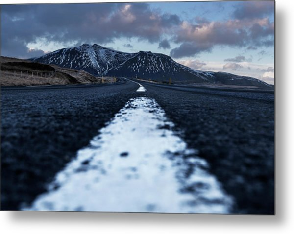 Metal Print featuring the photograph Mountains In Iceland by Pradeep Raja Prints