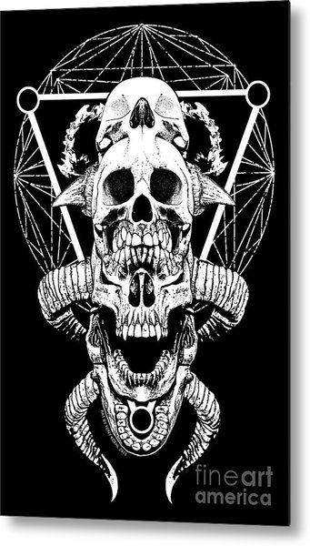 Mouth Of Doom Metal Print