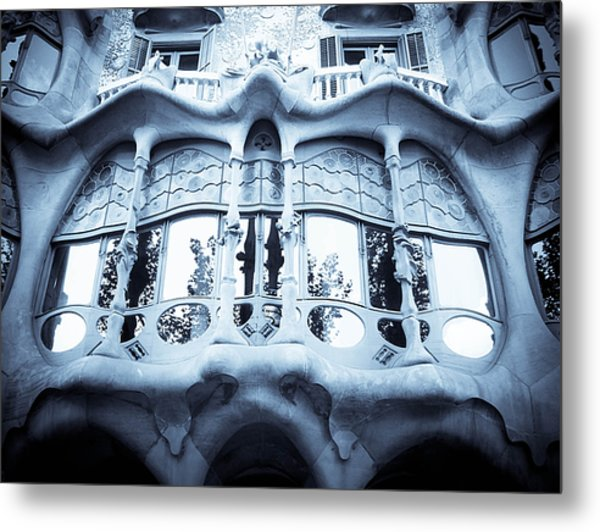 Mouth Metal Print