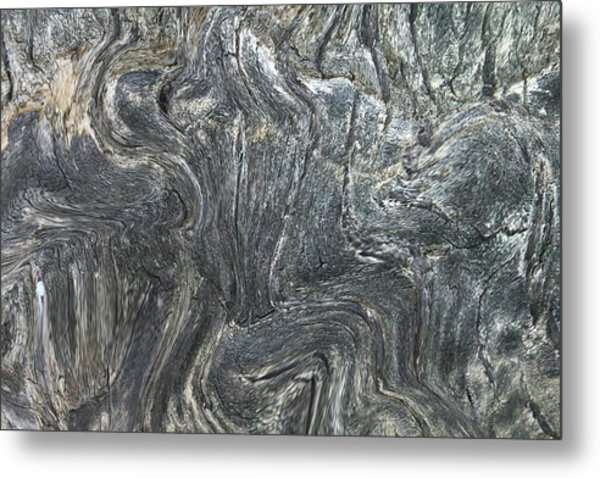 Movement In The Earth Metal Print