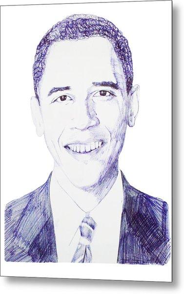 Mr. President Metal Print by Benjamin McDaniel