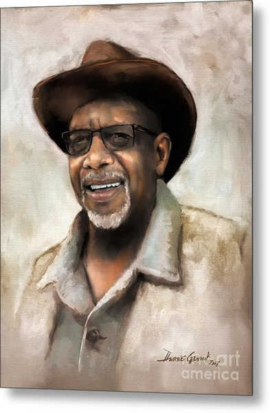 Metal Print featuring the digital art Mr. Wilson by Dwayne Glapion