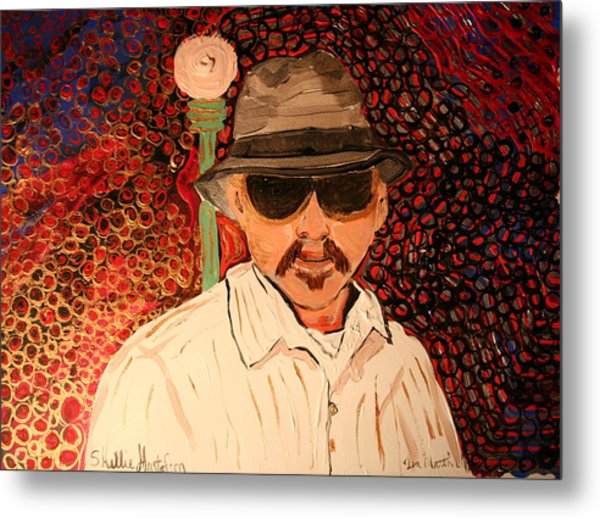 Mr.perez Metal Print by Shellie Gustafson