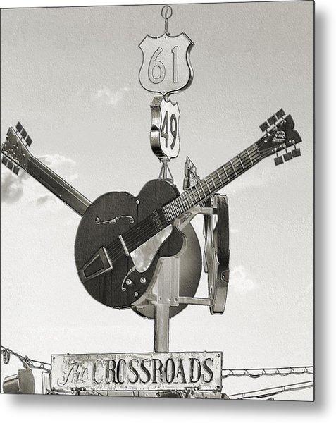 Ms Crossroads Metal Print