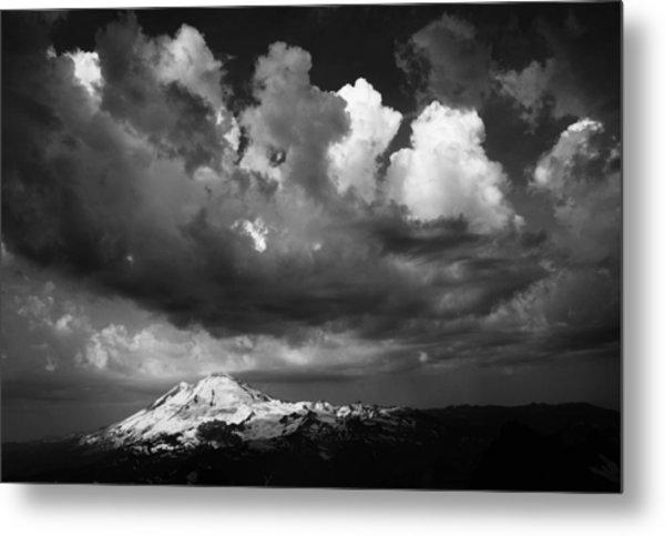 Mt. Baker Thunderstorm. Metal Print by Alasdair Turner