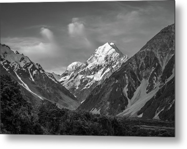 Mt Cook Wilderness Metal Print