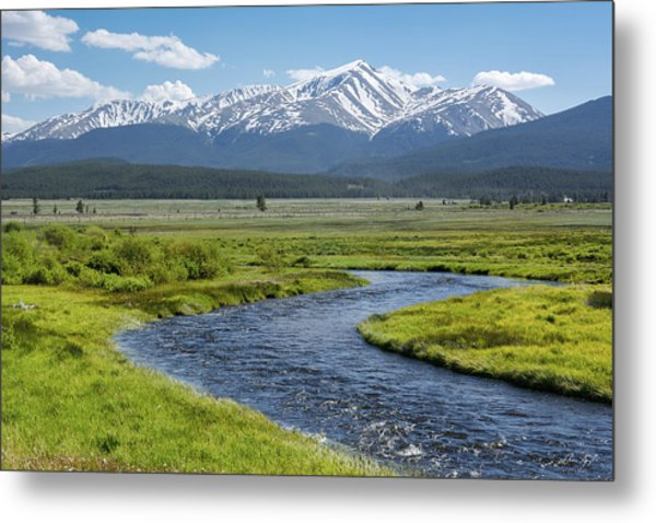 Mt. Elbert - Spring Metal Print