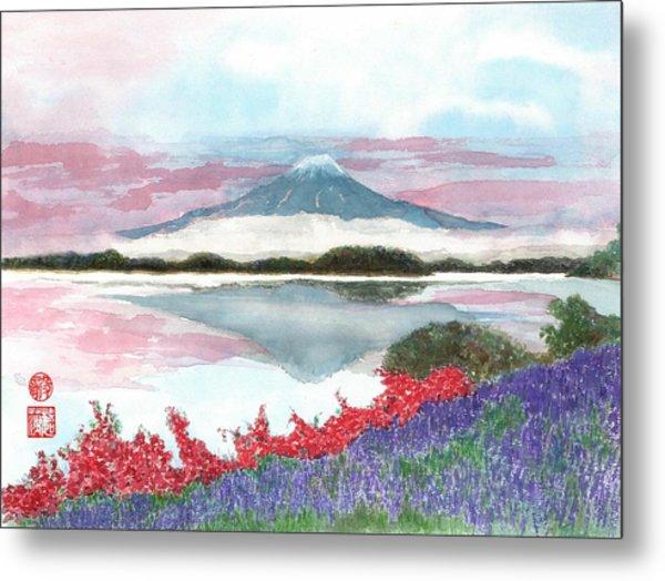 Mt. Fuji Morning Metal Print