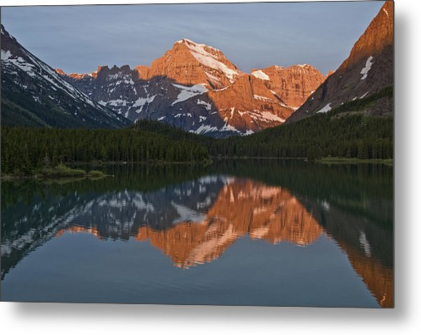 Metal Print featuring the photograph Mt. Gould by Gary Lengyel