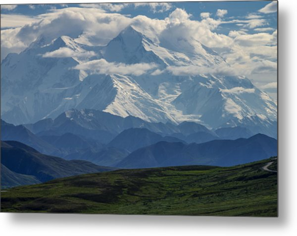 Metal Print featuring the photograph Denali by Gary Lengyel