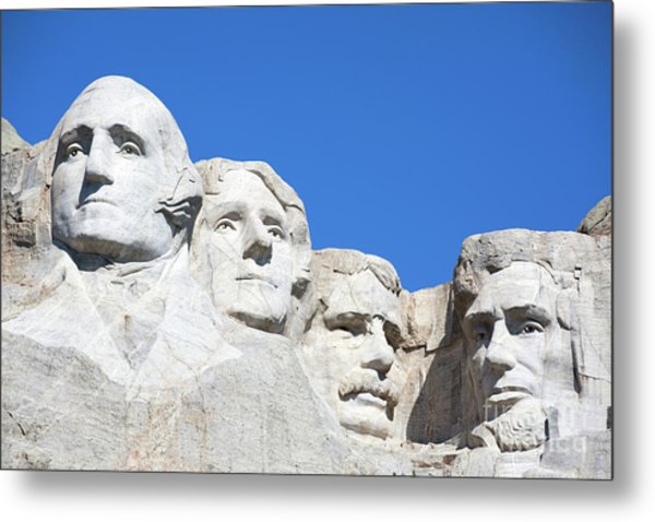 Mt. Rushmore Metal Print