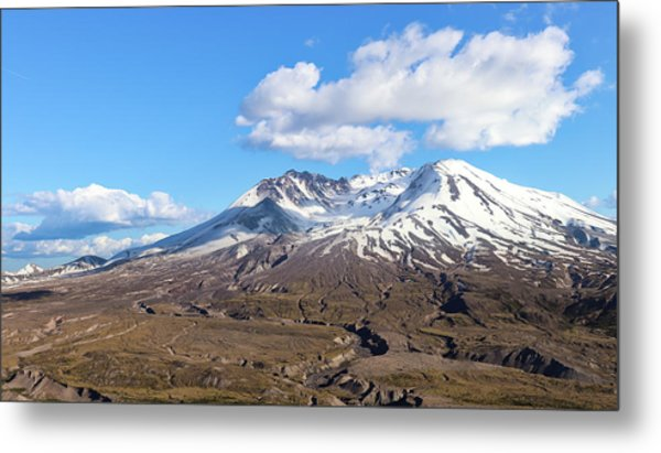 Mt Saint Helens Metal Print