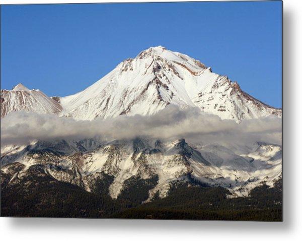 Mt. Shasta Summit Metal Print