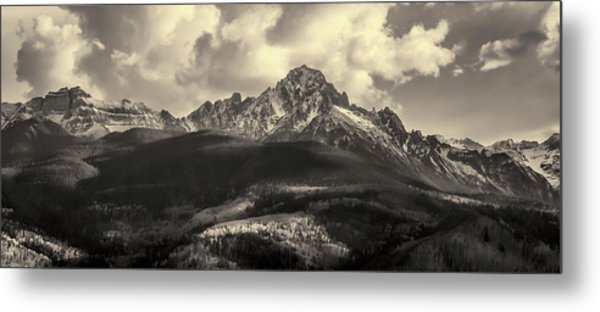 Metal Print featuring the photograph Mt. Sneffels by Angela Moyer