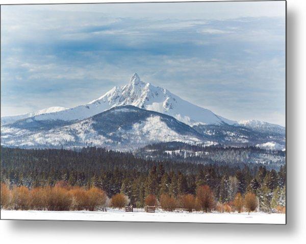 Mt. Washington Metal Print by Joe Hudspeth
