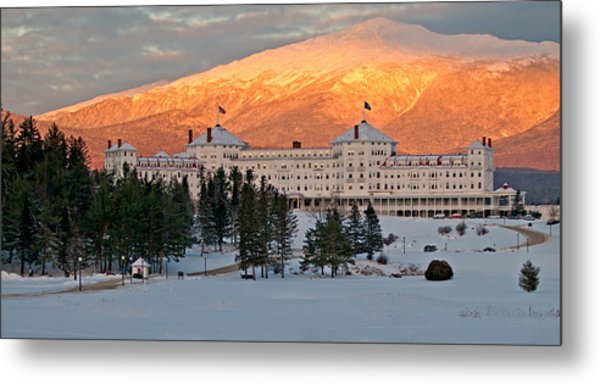 Mt. Washinton Hotel Metal Print