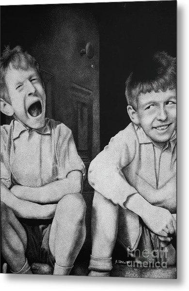 Mucky Kids 3 Metal Print