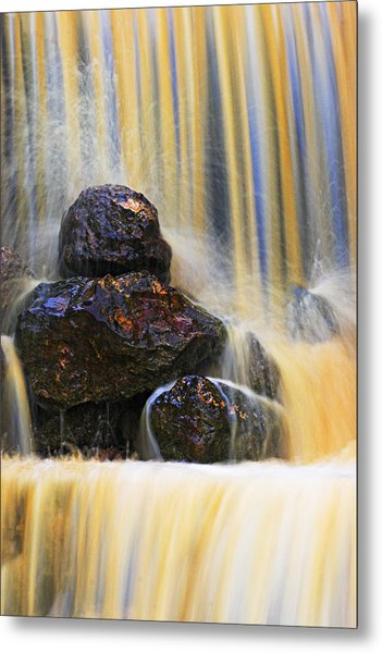 Muddy Water-st Lucia Metal Print