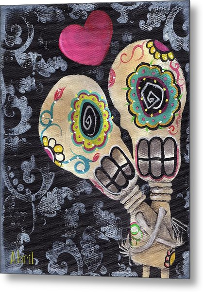 Muertos De Amor Metal Print by  Abril Andrade Griffith