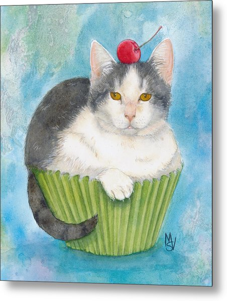 Muffin Of Animal Rescue And Foster Metal Print