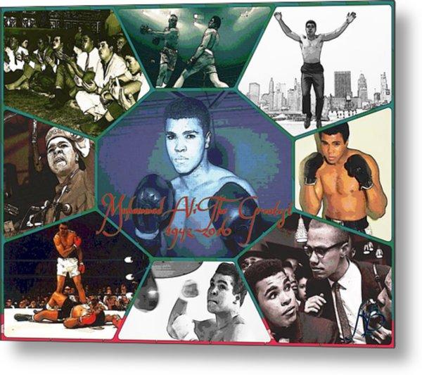 Muhammad Ali The Greatest  Metal Print