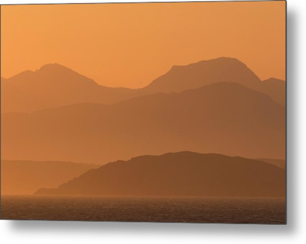 Mull Sunrise Metal Print
