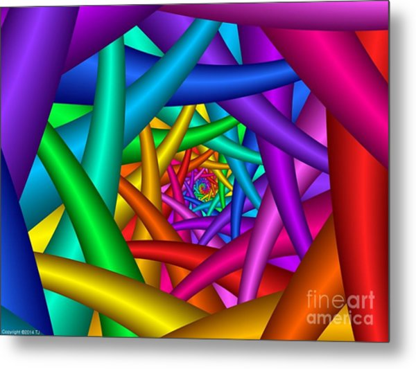 Multichrome  16 Metal Print