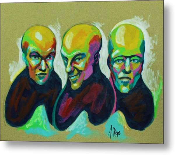 Multiple Personality Metal Print