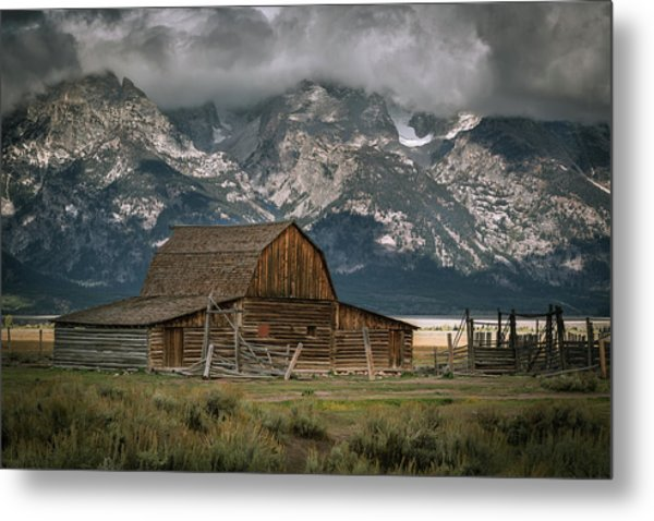 Multon Barn Metal Print