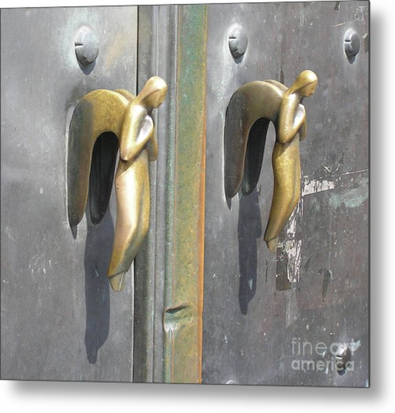 Munich Angels Metal Print