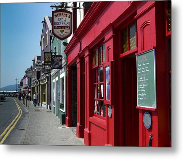 Murphys Bed And Breakfast Dingle Ireland Metal Print