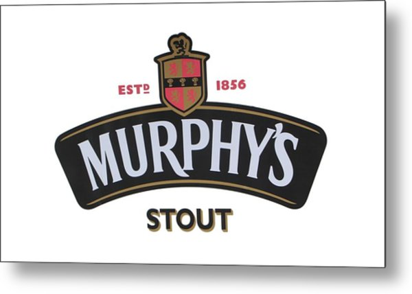 Murphys Irish Stout Metal Print