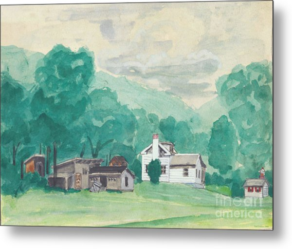 Murray Hollow Farm Metal Print