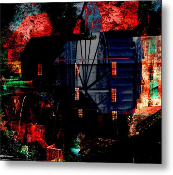 Murrays Mill Revisited Metal Print by MW Robbins