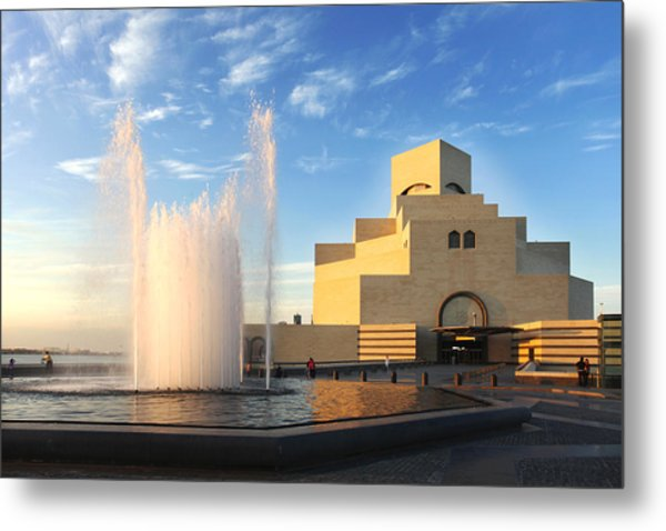 Museum Of Islamic Art Doha Qatar Metal Print