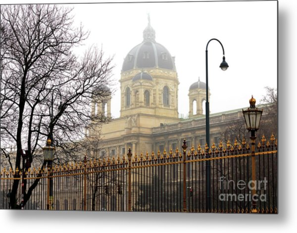 Museum Of Natural History Vienna Metal Print by John Rizzuto