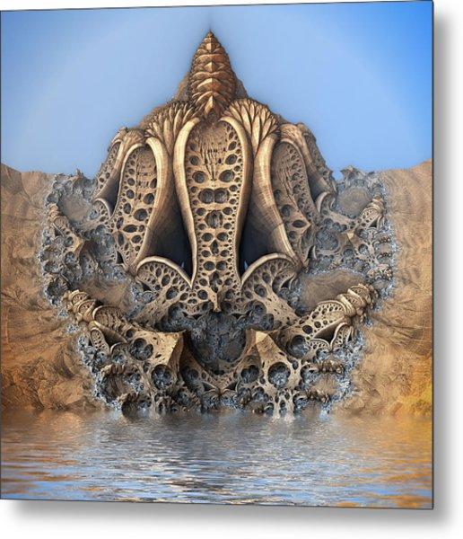 Mushroom Pod Metal Print