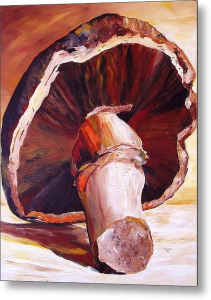 Mushroom Still Life Metal Print