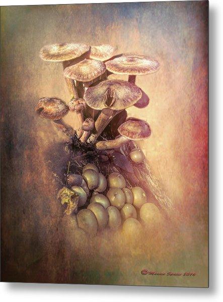 Mushrooms Gone Wild Metal Print