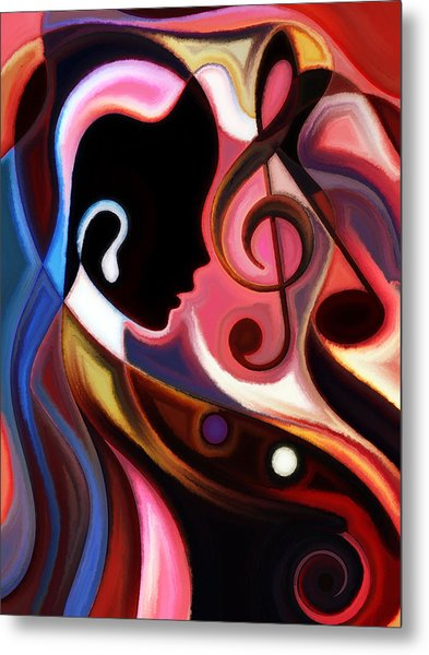 Music In The Air Metal Print