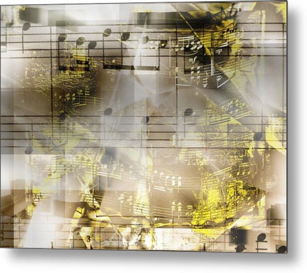 Musical Secrets Metal Print