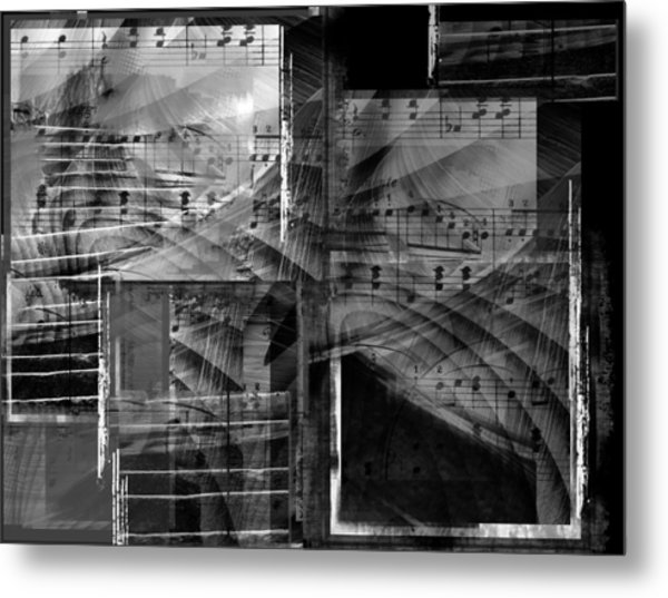 Musical Steps... Metal Print