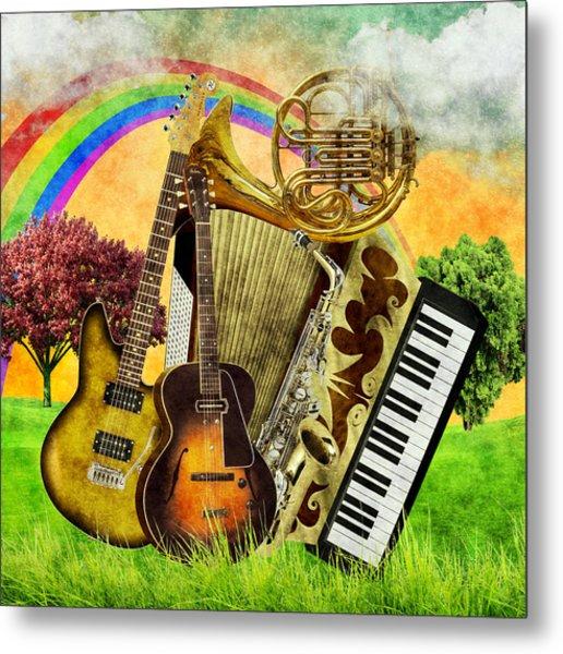 Musical Wonderland Metal Print