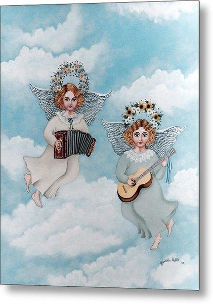 Musician Angels Metal Print