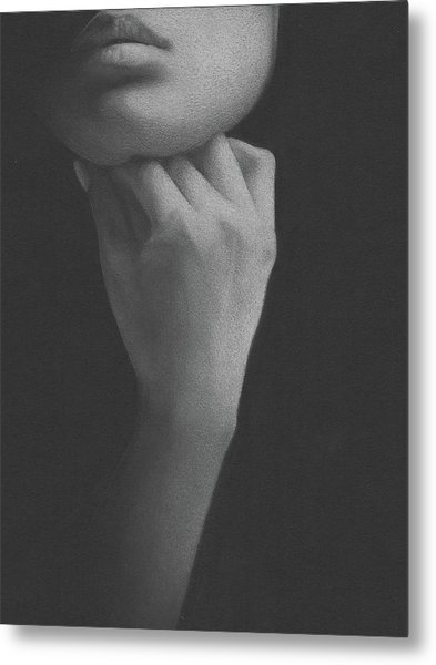 Muted Shadow No. 2 Metal Print
